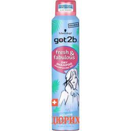 Got2b Fresh&fabulous Dry Shampoo Volume 200мл