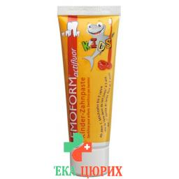 Эмоформ Актифтор Кидс детская зубная паста  в тюбике 75мл