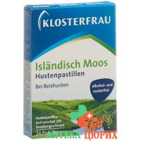 Klosterfrau Islaendisch Moos Pastill Sanddo 24 штуки
