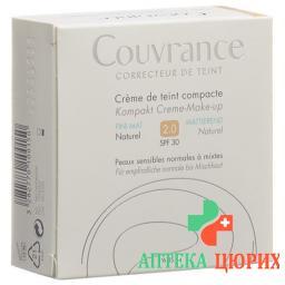 Avene Couvrance Kompakt Make-Up Mat Natur 02 10г