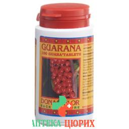 Guarana Dona Flor жевательные таблетки 100 штук