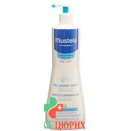Mustela Mildes гель мытья для нормальной кожи бутылка 750мл