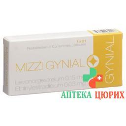 Миззи Гиниал 21 таблетка покрытая оболочкой