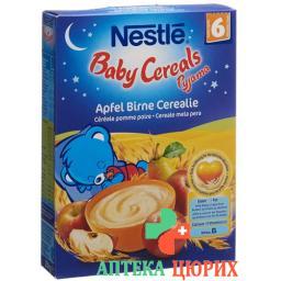 Nestle Baby Cereals Pyjama Apf Birne Cereal 250г
