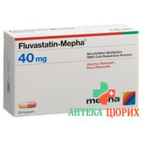 Флувастатин Мефа 40 мг 28 капсул