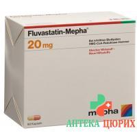 Флувастатин Мефа 20 мг 98 капсул