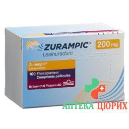 Зурампик 200 мг 100 таблеток покрытых оболочкой