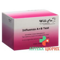 WILLI FOX INFLUENZA A&B TEST