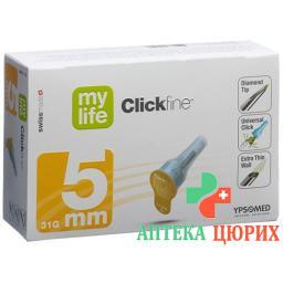 MYLIFE CLICKFIN NADELN 5MM 31G