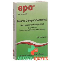 Epa Lachsoel Konzentrat mit Omega 3 Fettsauren 30 штук