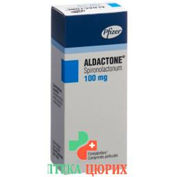 Альдактон 100 мг 30 таблеток покрытых оболочкой