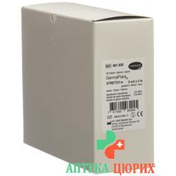 Dermaplast Stretch марлевый бинт Weiss 6смx4m 20 штук