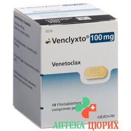 VENCLYXTO 100MG