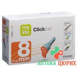 MYLIFE CLICKFIN NADELN 8MM 31G
