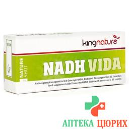 KINGNATURE NADH VIDA 20MG