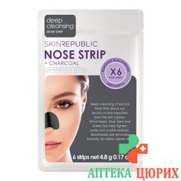 SKIN REP CHARCOAL NOSE STRIPS