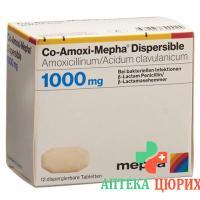 Ко-Амокси Мефа 1000 мг 20 диспергируемых таблеток