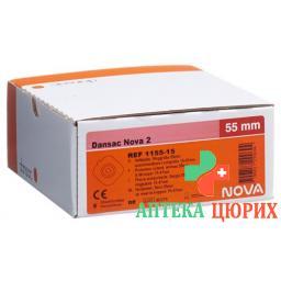 Dansac Nova 2 Basisplatten 55мм 15-47мм 5 штук