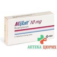 Максалт 10 мг 3 таблетки