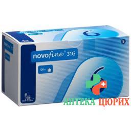 Novofine Injektionsnadeln 6мм 31г 100 штук