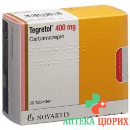 Тегретол 400 мг 200 таблеток