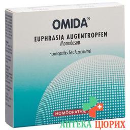 Омида Евфразия (очанка) глазные капли 15 монодоз 0.7 мл