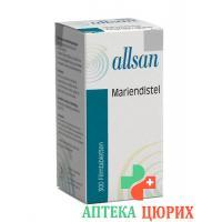 Алльзан чертополох 300 таблеток покрытых оболочкой