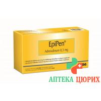 Эпипен раствор для инъекций 0,3 мг 2 мл 2 автоинжектора