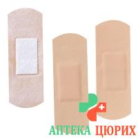 Askina Med Strips Hautfarben 2.2см Rund 100 штук