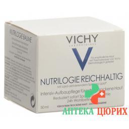 Vichy Nutrilogie Reichhaltig Intensiv-Aufbaupflege fur Extrem для сухой кожи 50мл