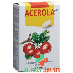 Acerola Plus Vitamin C Lutsch-Taler 60 штук