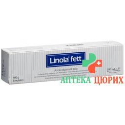 Линола жирная эмульсия 100 грамм