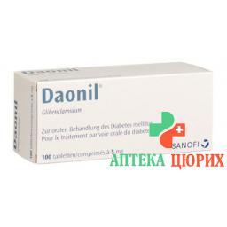 Даонил 5 мг 100 таблеток