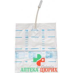 Sahag пакет для мочи 1.5л 90см ohne Ablauf 10 штук