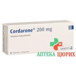 Кордарон 200 мг 60 таблеток