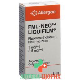 ФМЛ Нео-Ликвифилм тонкая жидкая плёнка глазные капли 5 мл