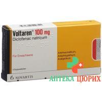 Вольтарен 100 мг 5 суппозиториев для взрослых