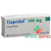 Тиапридал 100 мг 50 таблеток