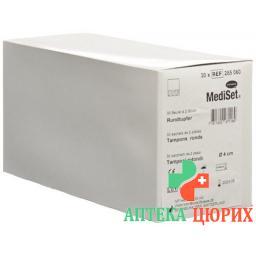 Mediset IVF Rundtupfer 4см стерильный 2 штуки