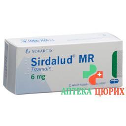 Сирдалуд МР 6 мг 30 ретард капсул