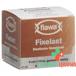 Flawa Fixelast Gazebinde 10мX4см Weiss