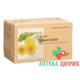 Сидрога чай из цветков одуванчика 20 пакетиков