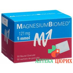 Магний Биомед 50 пакетиков гранул