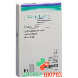 VariHesive Extra Dunn Hydrokolloidverband 5x10см 10 пакетиков