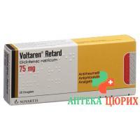 Вольтарен Ретард 75 мг 100 драже