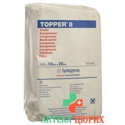 Topper 8 Einmal-Kompressen 10x20см не стерильный 200 штук