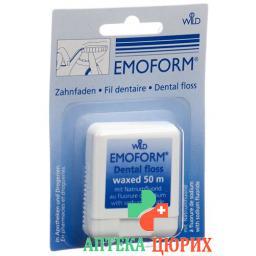 Emoform Zahnfaden Gewachst 50м