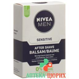 Nivea Men Sensitive After Shave бальзам 100мл
