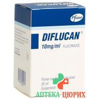 Дифлюкан порошок для приготовления суспензии 10 мг/мл флакон 35 мл