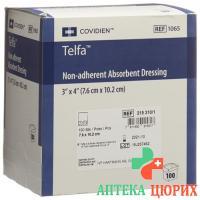 Telfa Wundauflage ohne Haftrand 7.6x10.2см 100 штук